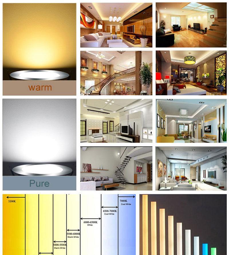 Купить с кэшбэком 5XG9/GU10/E14/E27/B22 5730 69LED 9W Lamp corn led Corn Bulbs led Bulb Lamp High Power 360 Degree Energy saving lamps 220V