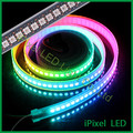 APA102 IP20/IP65 DC5V addressable dream color led strip light 144leds/m