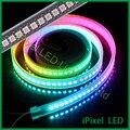 APA102 IP20/IP65 DC5V endereçável cor sonho levou luz de tira 144 leds/m