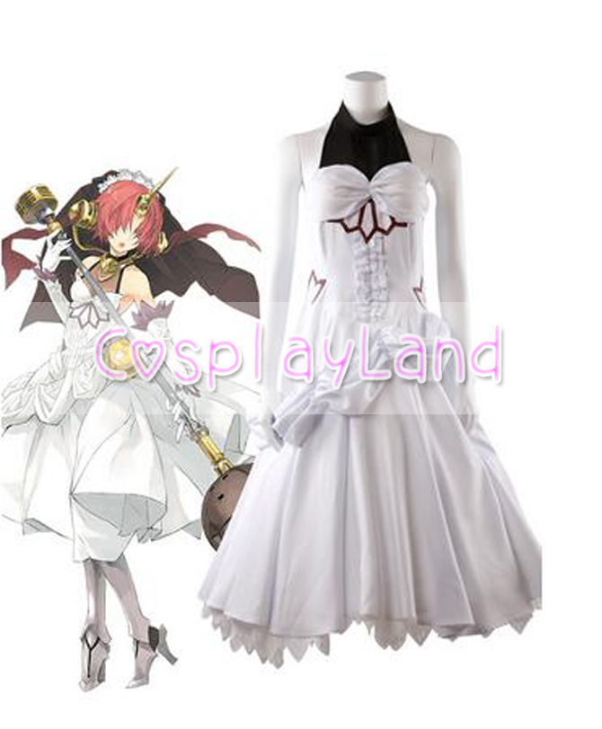 FGO FateGrand Order Frankenstein Dress Cosplay Costume Custom Made Halloween Carnival Party Women Costumes Fancy Suit Outfit