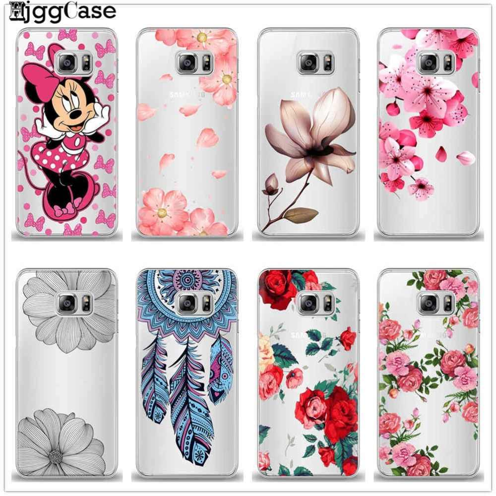 Phone Case For Coque Samsung Galaxy S6 S7 Edge S8 9 Plus J2 J3 J4 J5 J6 J7 A3 A5 A7 2016 2017 A6 A8 Plus 2018 TPU Silicone Cover