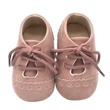 Boy Girl Soft  Fringe Soft Soled Non-slip Footwear Crib Shoes PU Suede Leather Newborn Baby Moccasins