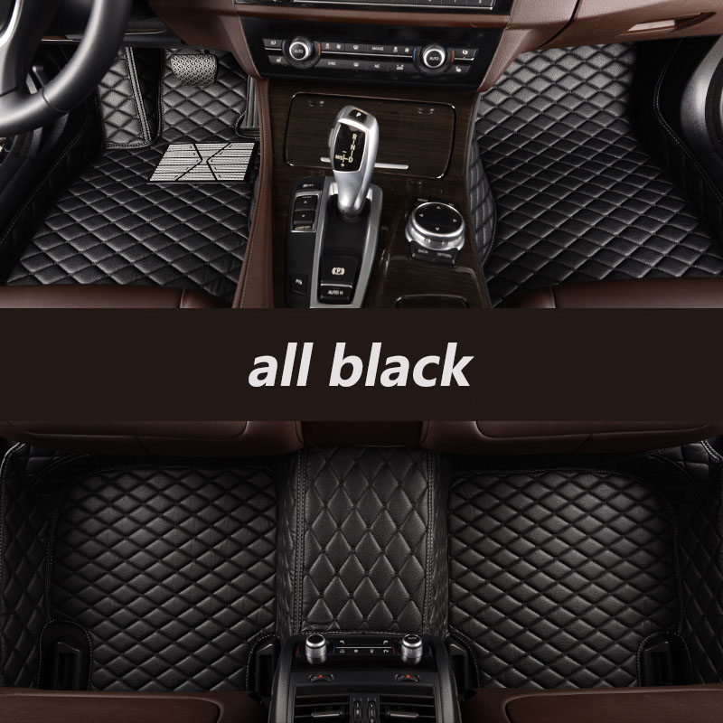 kalaisike Custom car floor mats for Cadillac all models SRX CTS Escalade ATS ATSL XTS CT6 SLS XT5 CT6 auto accessories styling all surrounded durable carpet special car floor mats for cadillac ct6 xts xt5 sls cts ats escalade srx xlr most models