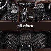 kalaisike Custom car floor mats for Cadillac all models SRX CTS Escalade ATS ATSL XTS CT6 SLS XT5 CT6 auto accessories styling
