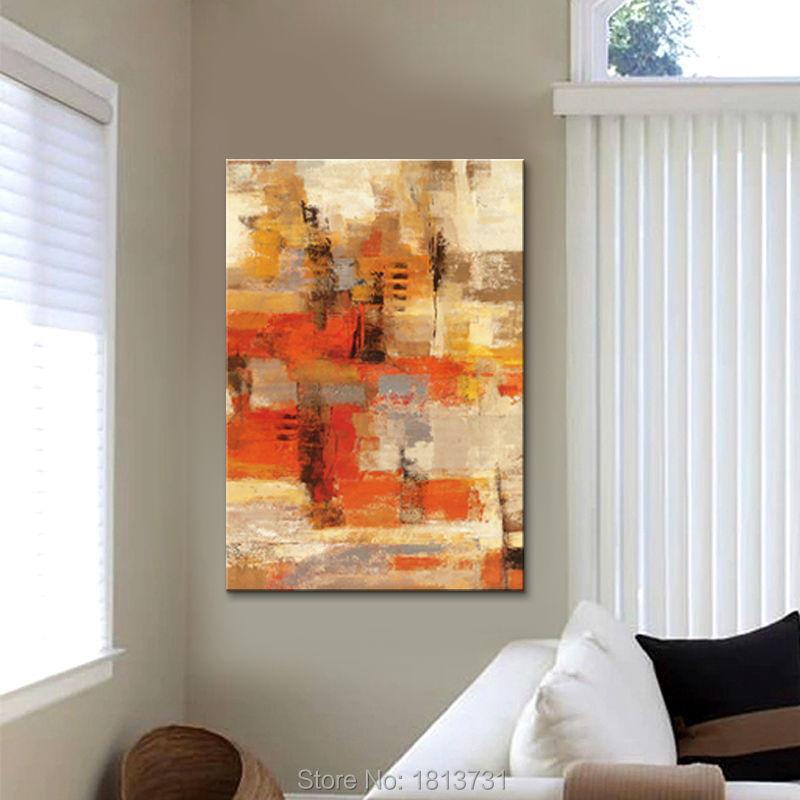 Nodic painting Ručně malované moderní abstraktní na plátně, - Dekorace interiéru