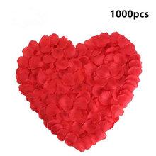 Decoration-Accessories Petal Rose Wedding Flowers Artificial Silk YO 1000pcs Festival