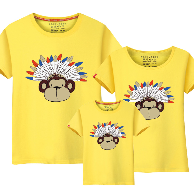 Happy Family Mother And Daughter Clothes Look Matching Outfits Sylvanian Families Kids Boys Girls t shirt Summer top Clothing ...