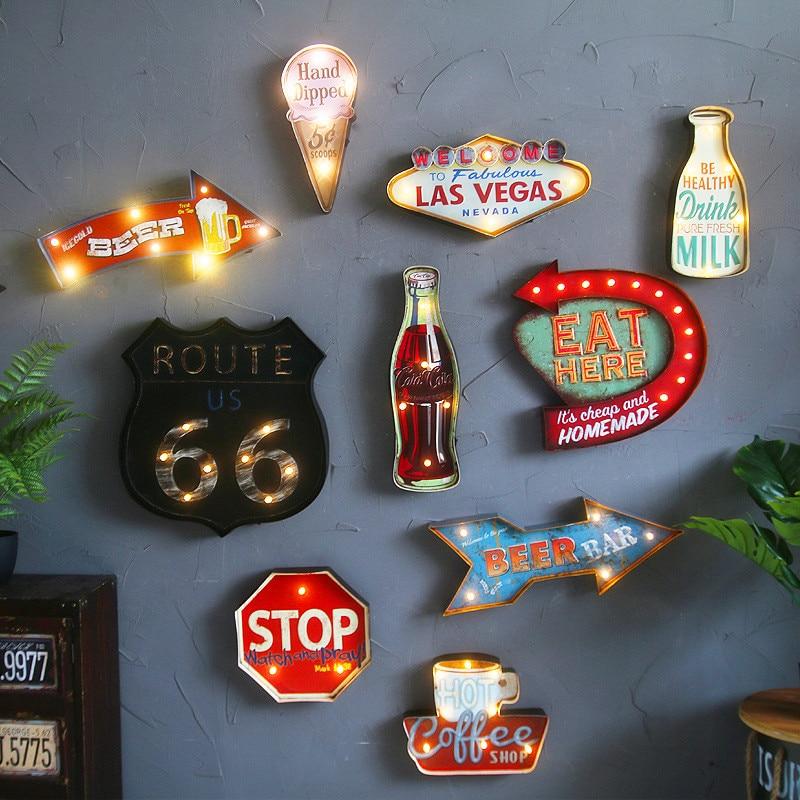 Shenjat e dritës së dritës së verdhë në Las Vegas të Las - Dekor në shtëpi - Foto 2