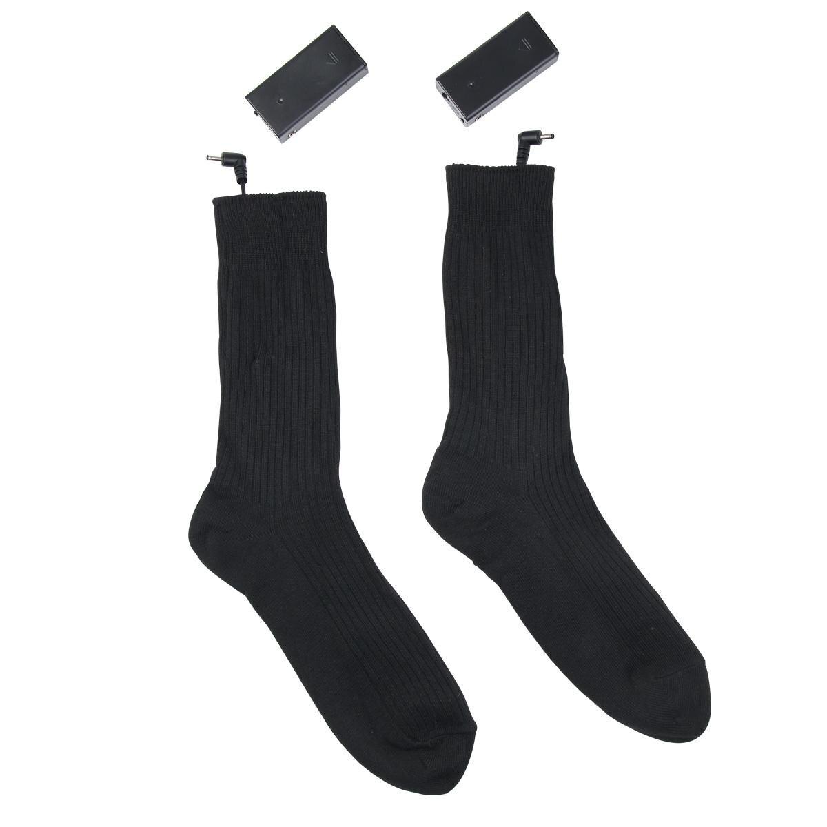 Warmski Unisex Thermal Cotton Heated Socks 5