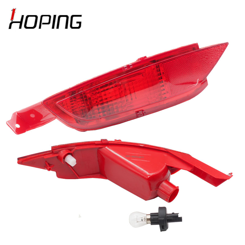 Hoping Auto Rear Bumper Fog Light Rear Reflector Fog Lamp Light For Ford Fiesta 2009 2010 2011 2012 2013 2014 Hatchback