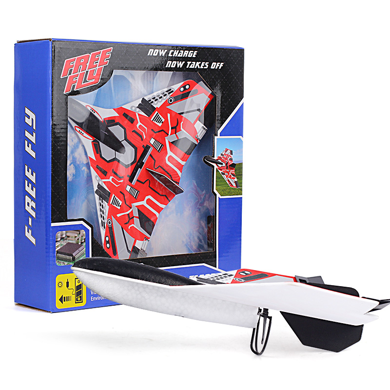 Hand Toss Electric Aircraft Upgrade Electric Hand Toss Aircraft Glider Diy Plane Model Children Toys Birthday Gift