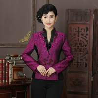 New Arrival High Quality Chinese Tradition Style Jackets Elegant Slim Jacket Coat Tang Suit Tops Plus Size L XL XXL XXXL 4XL R02