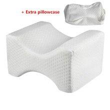 Подушка из пены с эффектом памяти для коррекции ног, Подушка для беременных, подушка для коррекции боли в спине, тазобедренных суставах, поддержка бедер, подушки для ног для сна