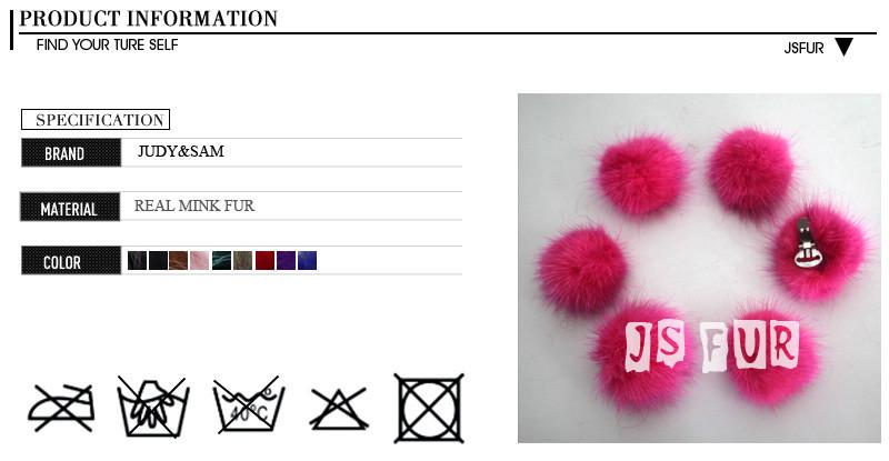 6 шт./лот винтаж реального норки мех животных пом зажимы для обувь одежда интимные аксессуары для для женщин съемная помпонами для девочек