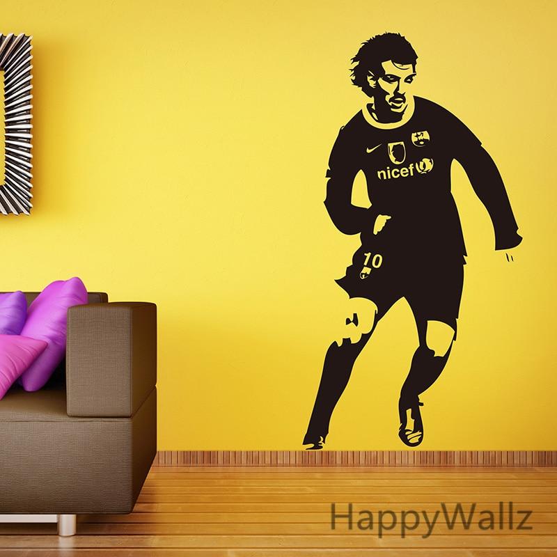 Jugador de fútbol etiqueta de la pared fútbol etiqueta de la pared - Decoración del hogar - foto 3