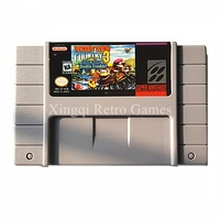 Nintendo SFC SNES Game Donkey Kong Country 3 Dixie Kong S Double Trouble Video Game Cartridge