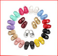 1 Pair Send PU Leather Fringe Newborn Baby Girl Boy Crib Shoes First Walkers Soft Soled Summer Baby Moccasins Moccs Shoes 0-18M
