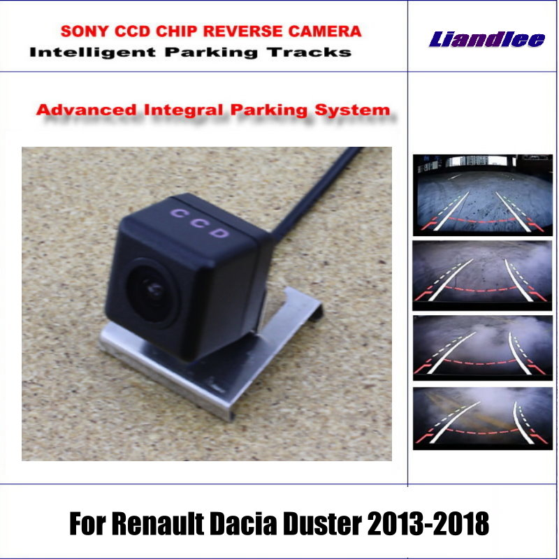 Backup Rear Reverse Camera For Renault Dacia Duster 2013 2018 / HD 860 * 576 Pixels 580 TV Lines Intelligent Parking Tracks-in Vehicle Camera from Automobiles & Motorcycles    1
