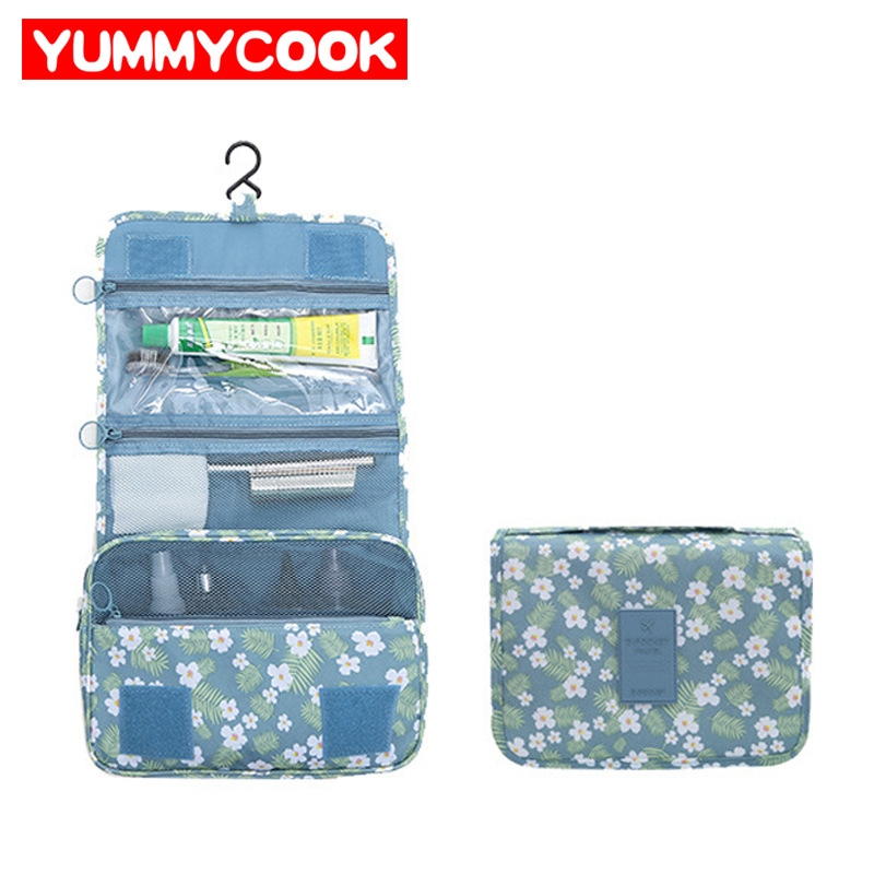 Women's Travel Makeup Storage Bag Ladies Girls Hanging Cosmetic Wash Pouch Organizer Wholesale Accessories Supplies Products