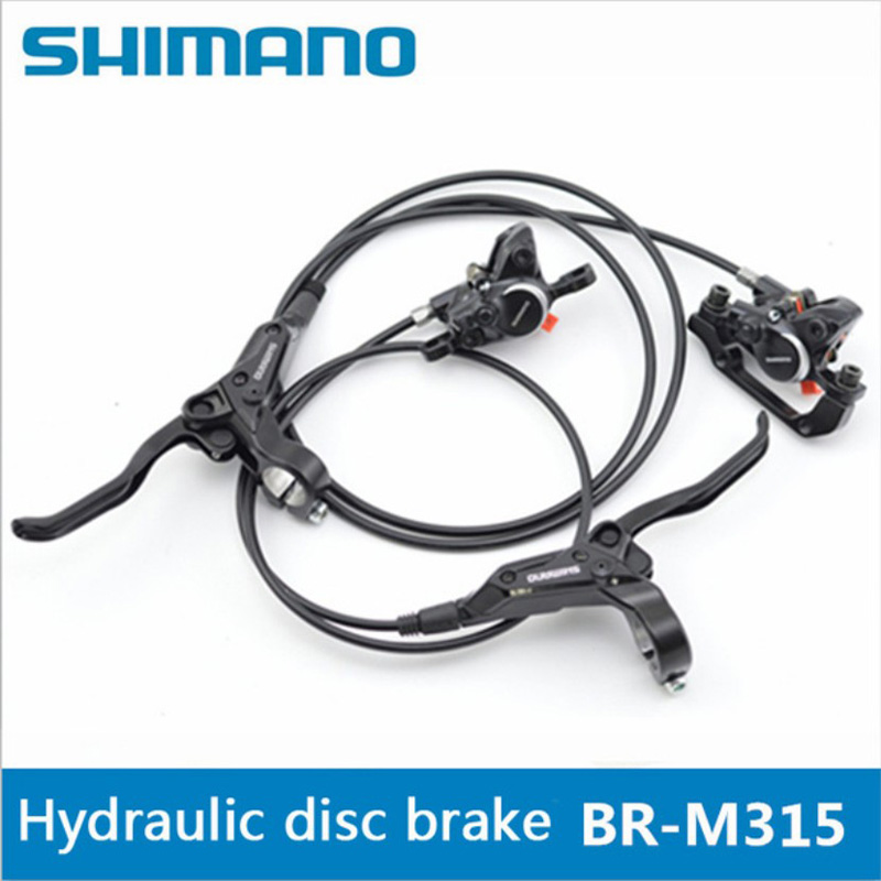 SHIMANO BR-M315 MT200 Mountain Bicycle Hydraulic Disc Brake Set Front and Rear Brake Set Bike Parts MTB Oil Disc Brake Set disc brake of high quality for off road motorcycle racing motocross one set include front and rear two pieces disc brake