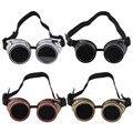 Cyber Goggles Steampunk Óculos Vintage Retro Punk Gótico Vitoriano Durável Óculos de Solda óculos óculos de sol 2016 Venda Quente