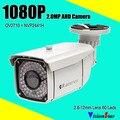 60 шт. ИК-Светодиодов Системы Безопасности Survelliance Камеры 1080 P AHD Варифокальный Объектив 2.8-12 мм IP66 Водонепроницаемый