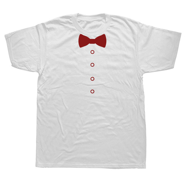 Awesome Tuxedo Bow Tie T-SHIRT4