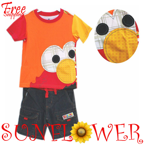 2013 Summer New Children Boy S Brand Clothes Toddler Clothes Cartoon