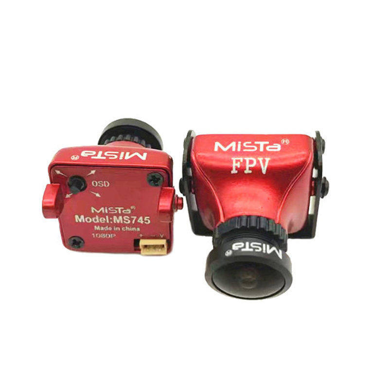 Mis à jour Mista 800TVL CCD 2.1mm Grand Angle HD 1080 p 16:9 OSD FPV Caméra PAL/NTSC Commutable Pour RC Quadcopter Modèle Drone