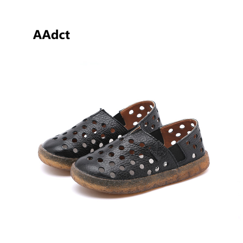 AAdct 2018 soft summer children casual shoes Hollow girls boys breathing shoes Brand High-quality kids shoes sneakers
