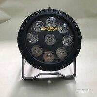 WAREHOUSE SALES 1pc 9x18W LED Slim Flat Par Light RGBWA UV 6IN1 Outdoor Party Disco Lighting