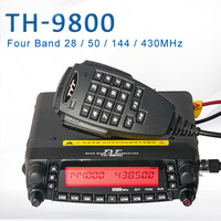 General TYT TH 9800 Pro 50W 809CH Quad Band Dual Display Repeater Scrambler VHF UHF Transceiver Car Truck Ham Radio 32793577146