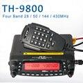 General TYT TH-9800 Pro 50W 809CH Quad Band doble pantalla repetidor codificador transmisor VHF UHF coche camión Ham Radio 32793577146