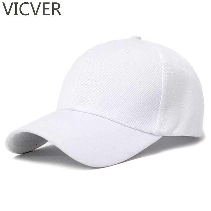 Trucker Hats Baseball-Cap Snapback Dad-Hat Plain Golf Black White Women Summer Casual