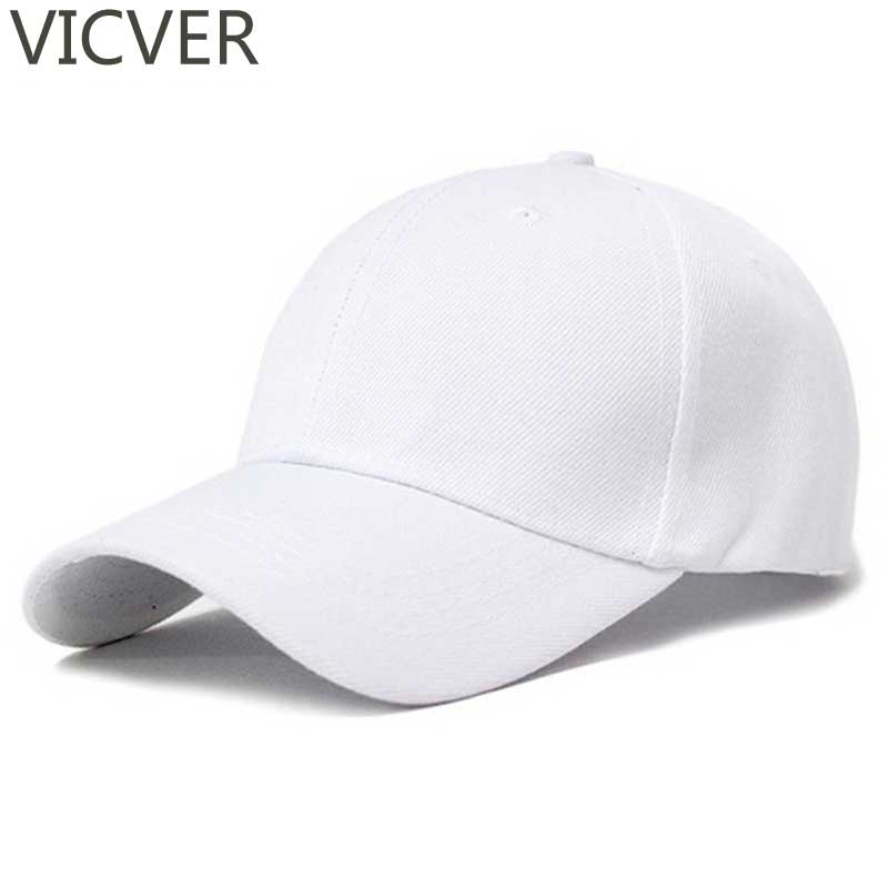 Snapback Baseball Cap Plain White Dad Hat Men Summer Trucker Caps For Women Black Casual Solid Hip Hop Hats Golf Polo Adjustable spaceman trucker cap men dad hat snapback baseball caps summer hip hop black embroidery cotton sun hats for women casual visor