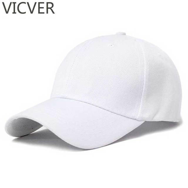 Snapback Bisbol Cap Polos Kanvas Ayah Topi Hip Hop Pria Putih Trucker Topi  Wanita Musim Panas 9d06ed2f4a