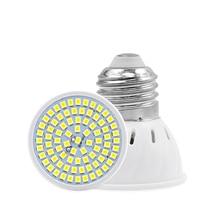 E27 E14 MR16 GU10 Lampada LED Bulb 220V 240V Bombillas Lamp Spotlight 48 60 80 2835 SMD Lampara Spot cfl