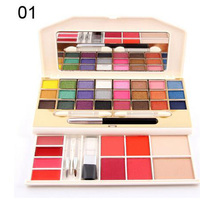 Brand Makeup Eye Shadow Eyeshadow 24 Colors Shimmer Matte Eye Shadow Blush Concealer Lipstick With Blushes