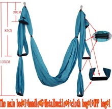 Aerial Yoga Hammock Parachute Fabric Swing Inversion Therapy Anti-gravity High Strength Decompression Hammock Yoga Gym Hanging