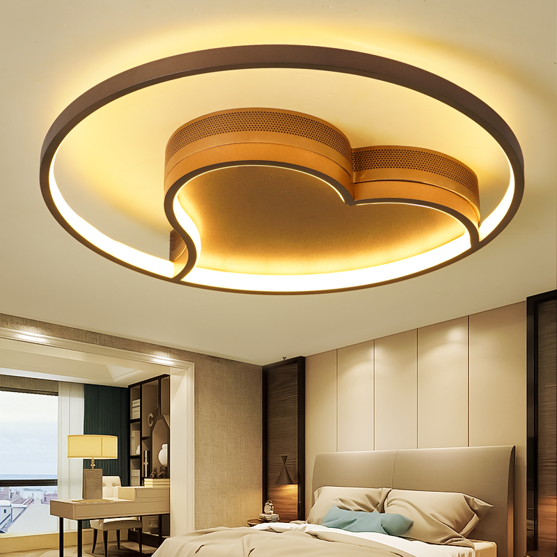 New Creative Rings Modern Led Ceiling Light For Living Room Bedroom 32w 44w 56w Home Indoor
