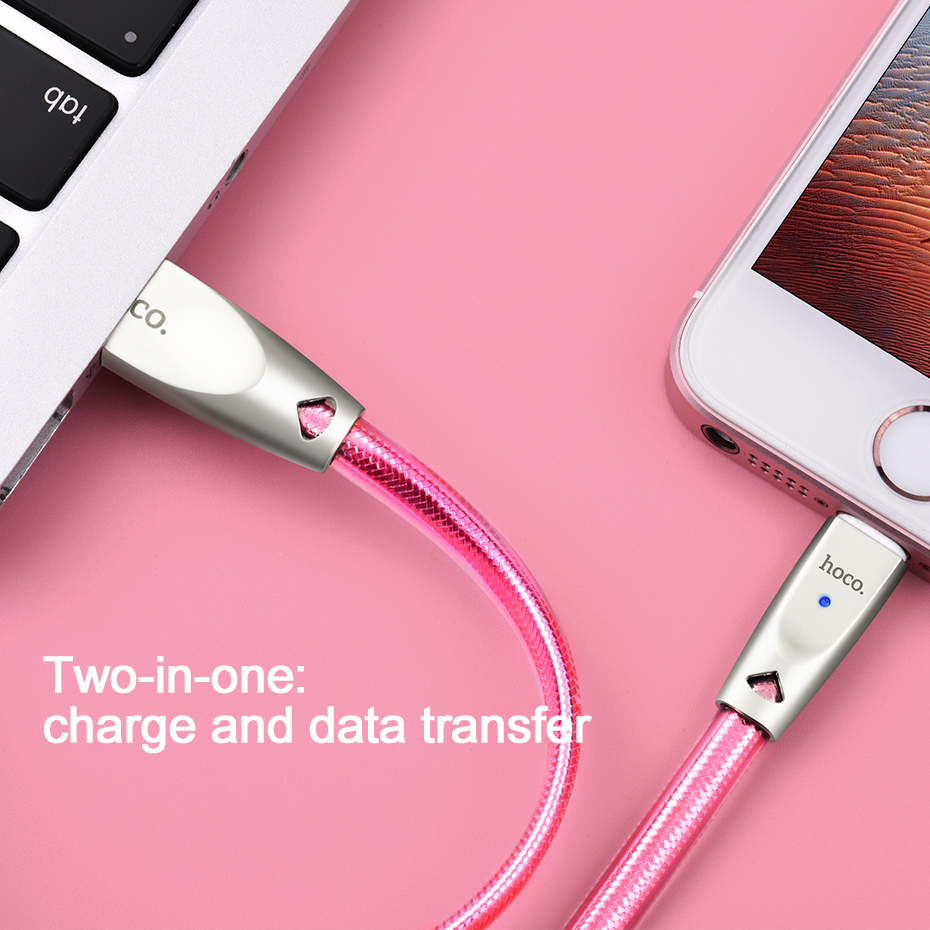 Καλώδιο HOCO USB για Apple 2.4A καλώδιο - Ανταλλακτικά και αξεσουάρ κινητών τηλεφώνων - Φωτογραφία 6