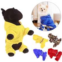 Pet Dog Rain Coat Camouflage Clothes Puppy Casual Waterproof Jacket Costumes Plus Size XS-XXL For