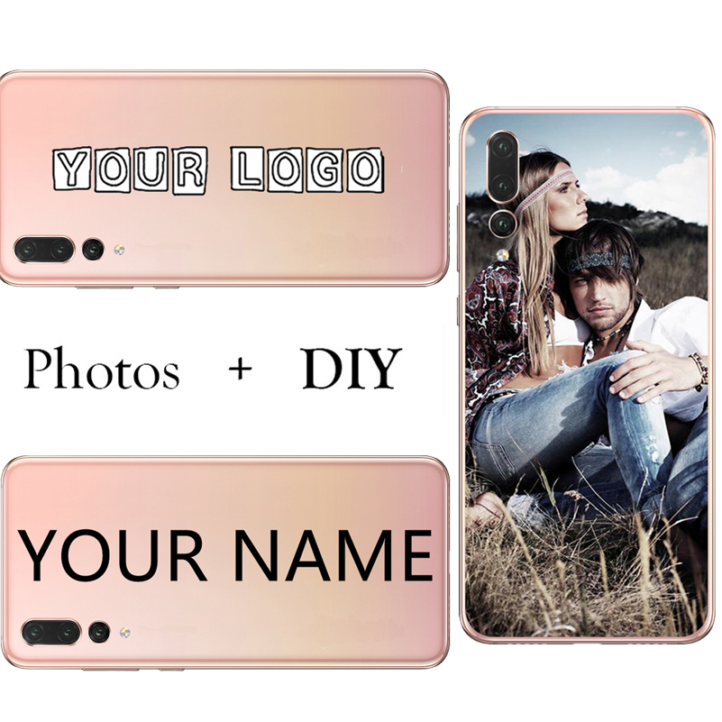 Custom Diy Silicone Tpu Phone Case Bag Back Cover Customized Printed Mobile Phone Cases Fo huawei honor 8 9 10 20 lite Honor 8 9 in Fitted Cases from Cellphones Telecommunications