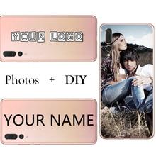 Custom Diy Silicone Tpu Phone Case Bag Back Cover Customized Printed Mobile Phone Cases Fo huawei honor 8 9 10 20 lite Honor 8 9