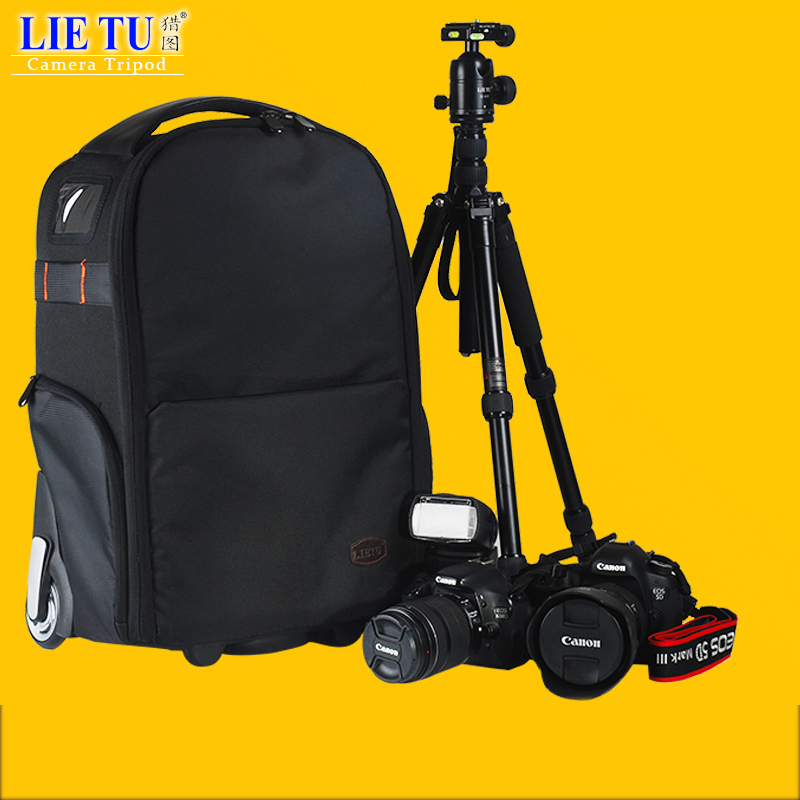 lietu Camera Bag Trolley Camera Backpack Camera Bag Leisure Backpack Camera Digital SLR T 80