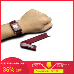 Wrist-Belt Band Anti-Static ESD Personal-Safety-Protector New Red Wireless Discharge