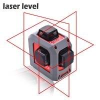 Высокоточный 12 line Набор лазерный уровень для строительства необходимые инструменты