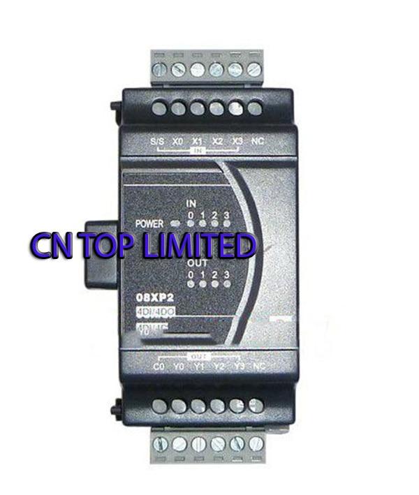 DVP08XP211T Delta ES2/EX2 Series Digital Module DI 4 DO 4 Transistor 24VDC new in box dvp08sp11t delta s series plc digital module di 4 do 4 transistor new in box