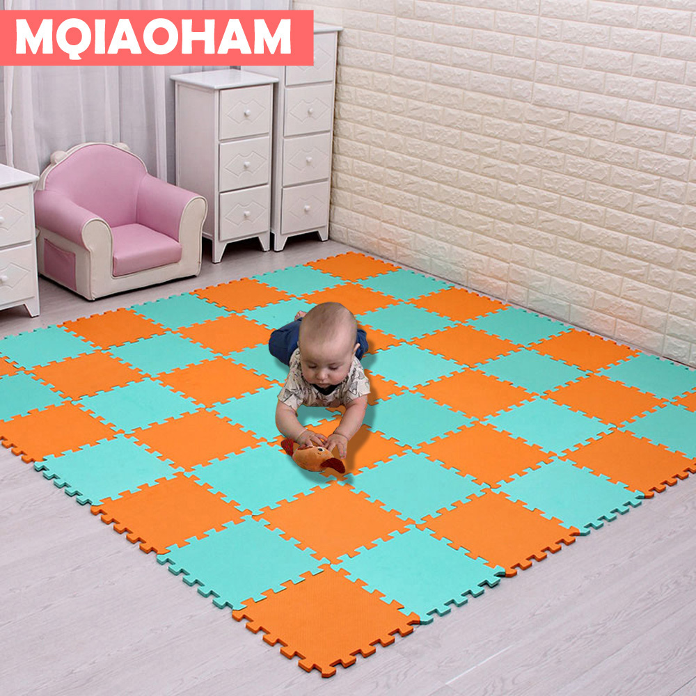 Newest 9 18pcs set EVA Children s Foam Carpet Mosaic floor Puzzle Carpet Baby Play Mat Newest 9/18pcs/set EVA Children's Foam Carpet Mosaic floor Puzzle Carpet Baby Play Mat Floor Developing Crawling Rugs Puzzle Mat