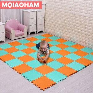 Image 3 - Tapete de eva para crianças com 9/18/pçs/set, mais novo tapete de mosaico de espuma para brincadeiras, desenvolvimento de bebês e engatinhando tapetes de quebra cabeça